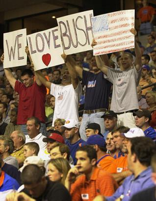 Something makes me think this sign has more than one meaning for these young adolescent college boys.