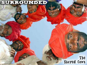 The Sacred Cows, India's newest N'Sync wannabees release their first EP Single 'Surrounded'.