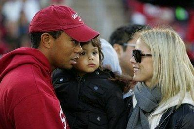TMZ is reporting that Tiger Woods has been speaking to his now ex-wife, Elin Nordegren, about possibly getting back together now that he has put his old lifestyle behind him.  The two are shown at Stanford Stadium recently in Palo Alto, California.
