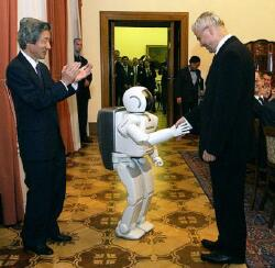 Asimo Not Intimidated By Height Difference