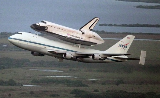 Piggyback Shuttle to Conduct Experiments at 40,000 Feet